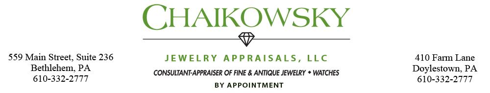 Chaikowsky Jewelry Appraisals
